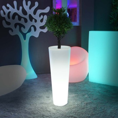 Vase Lumineux à LED Multicolore - ROUND XL