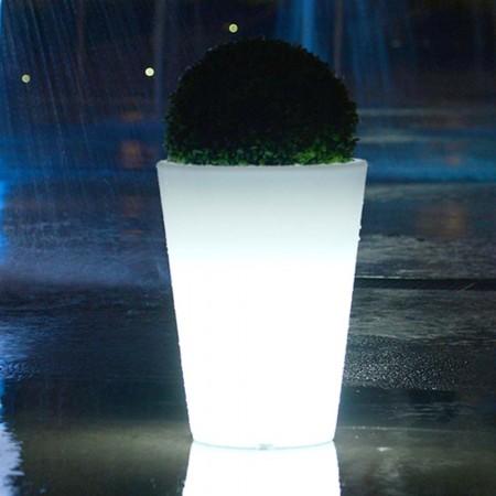 Vaso luminoso a LED multicolore - ROTONDO L