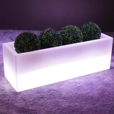 Mehrfarbiger LED-beleuchteter Pflanzer - PLANTAZNIK