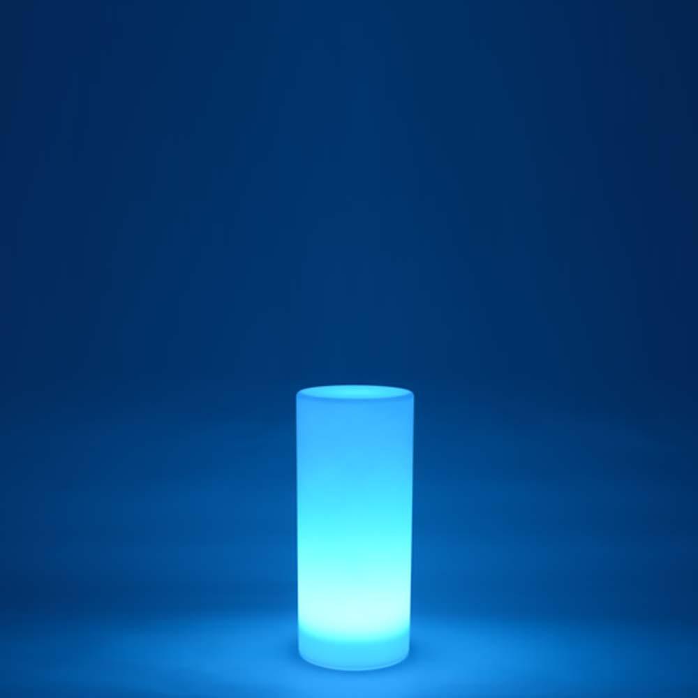 Columna de luz LED multicolor - REDONDA 80 cm