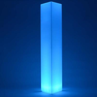 Colonna luminosa LED multicolore - QUADRATA 180 cm
