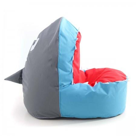 Pouf Enfant Requin Bleu BiG52