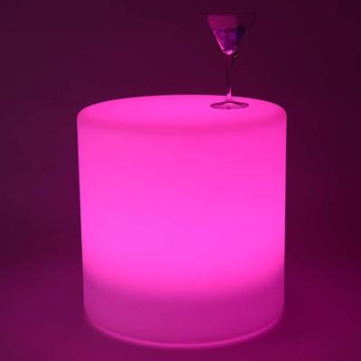 Cilindro de luz LED multicolor - 40 cm