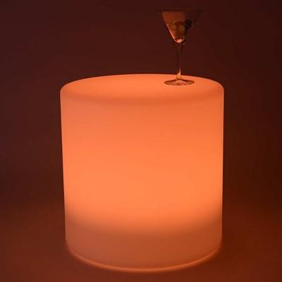 Cylindre Lumineux à LED Multicolore - 40 cm