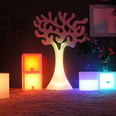 Árbol de luz LED multicolor