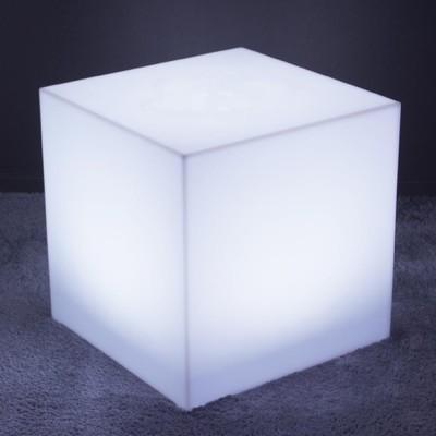 Cubo luminoso LED multicolore - 60 cm
