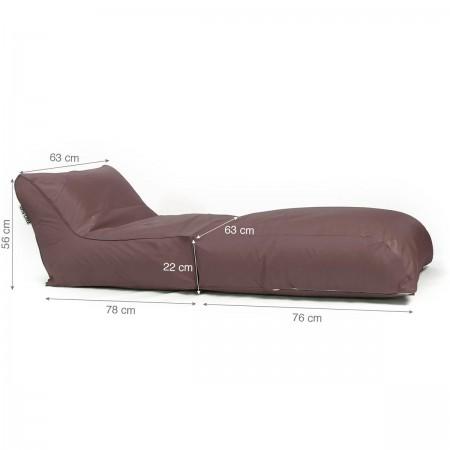 Sitzsacküberzug BiG52 Schokolade