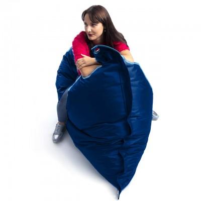 Puf gigante Outdoor Azul Marino BiG52 IRON RAW