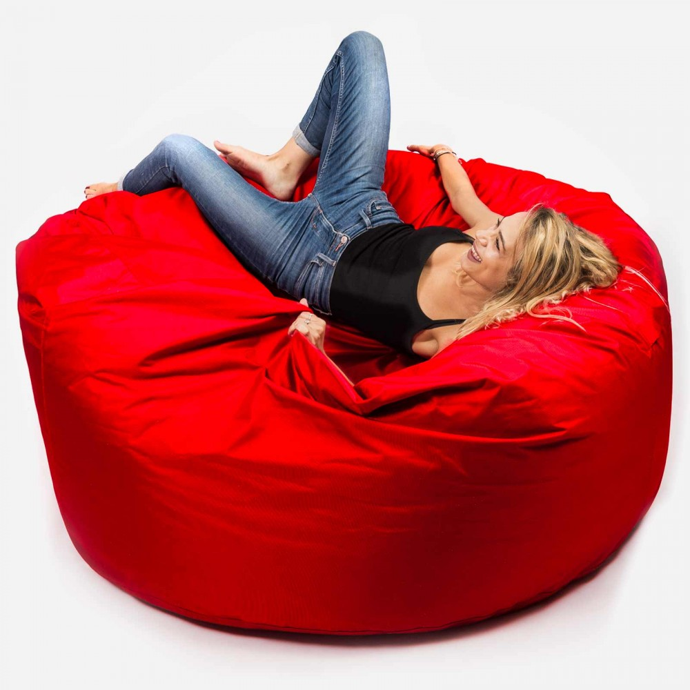 Riesiger Outdoor-Sitzsack XXXL BiG52 TiTAN - Rot