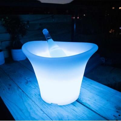 Seau à Champagne 36S Lumineux à LED Multicolore