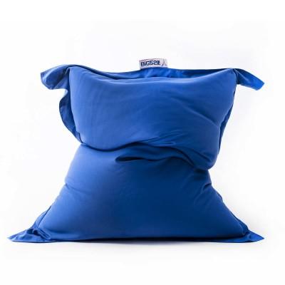 Riesiger blauer Sitzsack BiG52 PRO