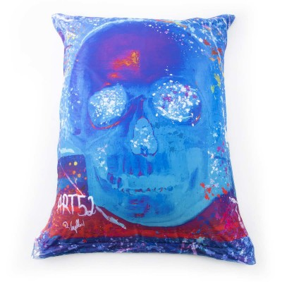 Giant Pouf ART52® - Blue Vanity