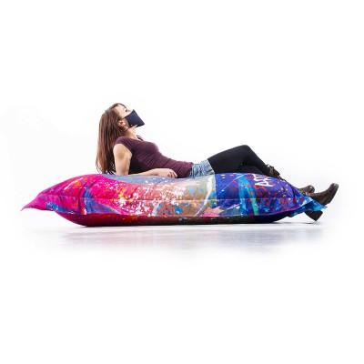 Pouf Géant ART52® - Vanité Multicolore