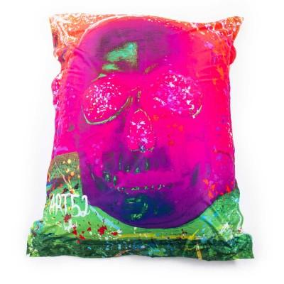 Puf gigante ART52® - Tocador rosa