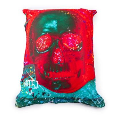 Giant Pouf ART52® - Rote Eitelkeit
