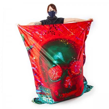 Pouf Géant ART52® - Vanité Rouge