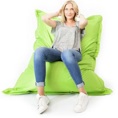 Giant Green Beanbag XL - drinnen und draußen