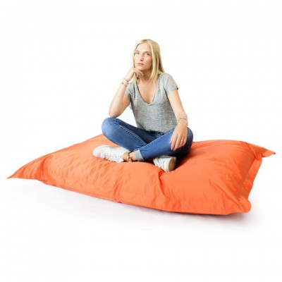 Pouf Géant Orange XL