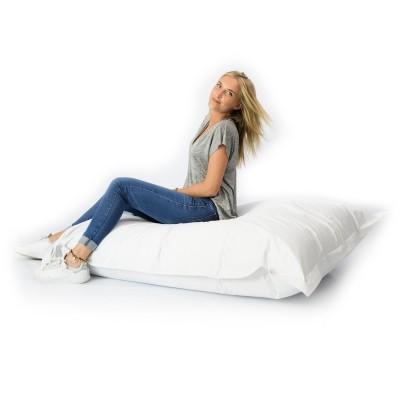 Giant Pouf Bianco XL - Interno ed Esterno