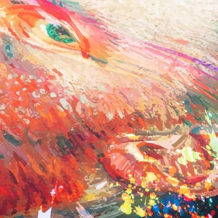 Pouf Géant ART52® - Van Gogh POP II