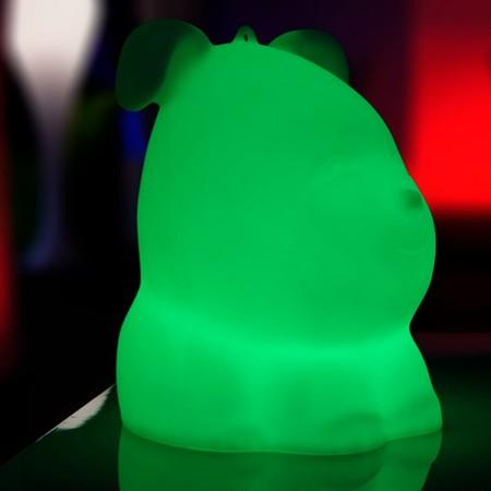 Chien Lumineux à LED Multicolore - VALPER