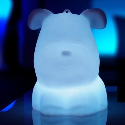 Mehrfarbiger LED-Lichthund - VALPER