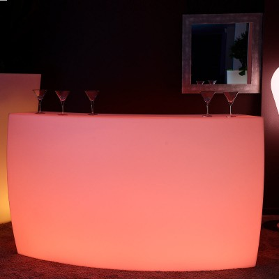BAR Lumineux à LED Multicolore - KRUG ROUND
