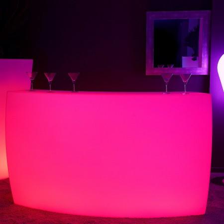 Barra de luces LED multicolor - KRUG ROUND