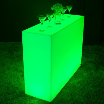 Mehrfarbige LED-Lichtleiste - QUADRATISCH