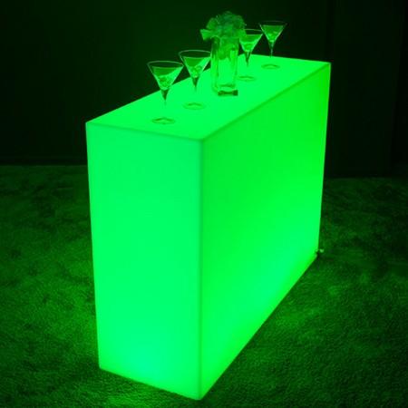 Barra luminosa a LED multicolore - QUADRATA