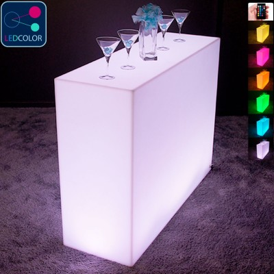 BAR Lumineux à LED Multicolore - SQUARE