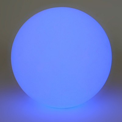 Boule Lumineuse à LED Multicolore - 30 cm
