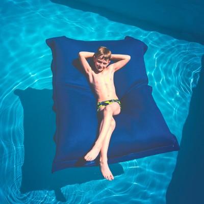 Puf de piscina gigante BiG52 POOL - Azul