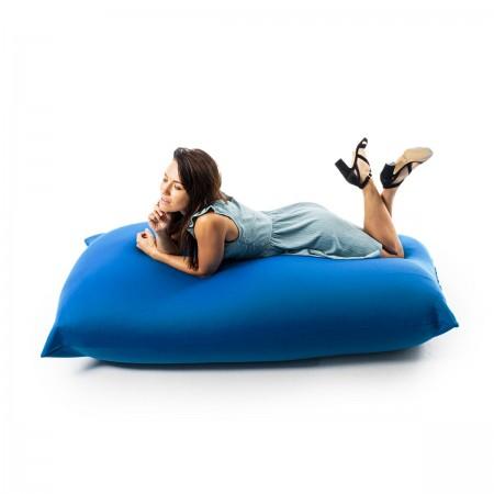 Pouf gigante elasticizzato blu BiG52