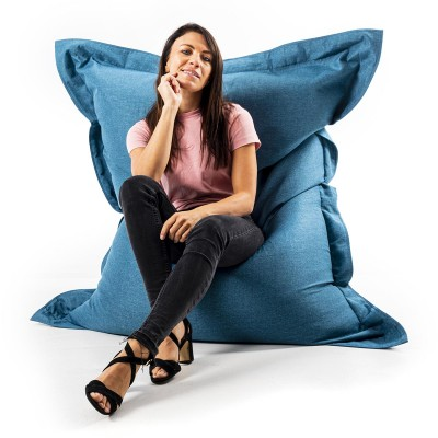 Giant Indoor Sitzsack BiG52 Cocooning - Entenblau
