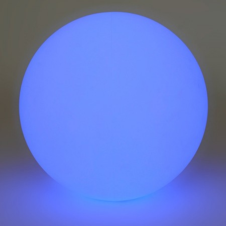 Mehrfarbiger LED-Lichtball - 40 cm