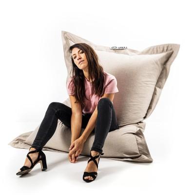 Giant Indoor Sitzsack BiG52 Cocooning - Beige