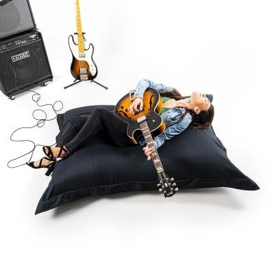 Giant Indoor Sitzsack BiG52 Cocooning - Schwarz