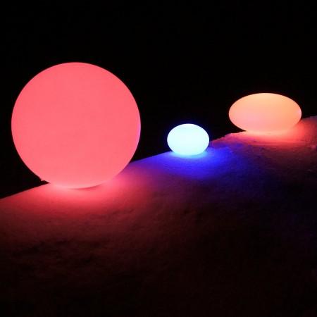 Bola de luz LED multicolor - 40 cm