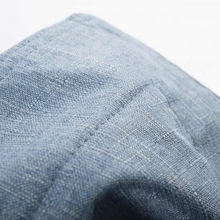 Pouf Géant Intérieur BiG52 Cocooning - Bleu métal