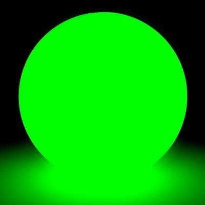 Mehrfarbiger LED-Lichtball - 60 cm