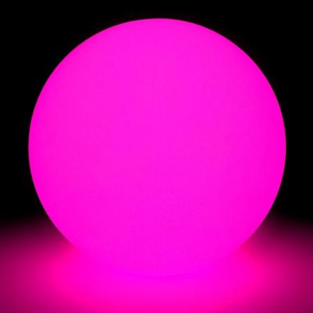 Mehrfarbiger LED-Lichtball - 80 cm