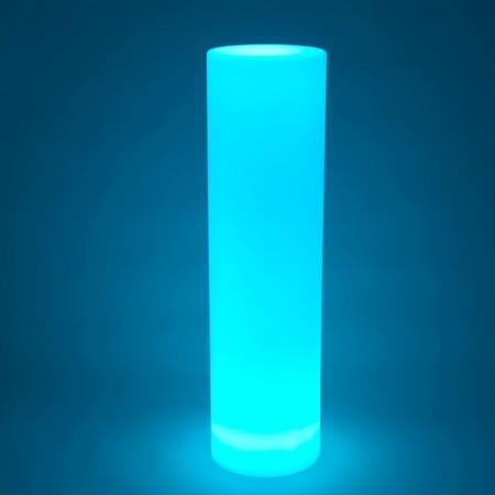 Columna de luz LED multicolor - REDONDA 115 cm