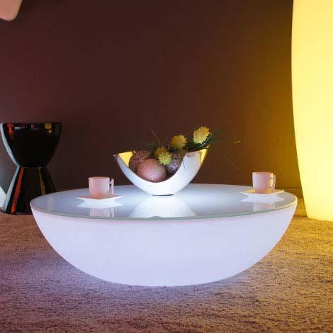 Pouf g ant et mobilier design sur livedeco le design for Mobilier lumineux exterieur