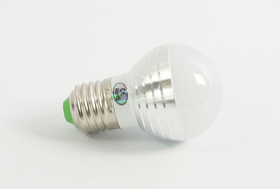 ampoule led e27 5 watts rvb avec t l commande. Black Bedroom Furniture Sets. Home Design Ideas