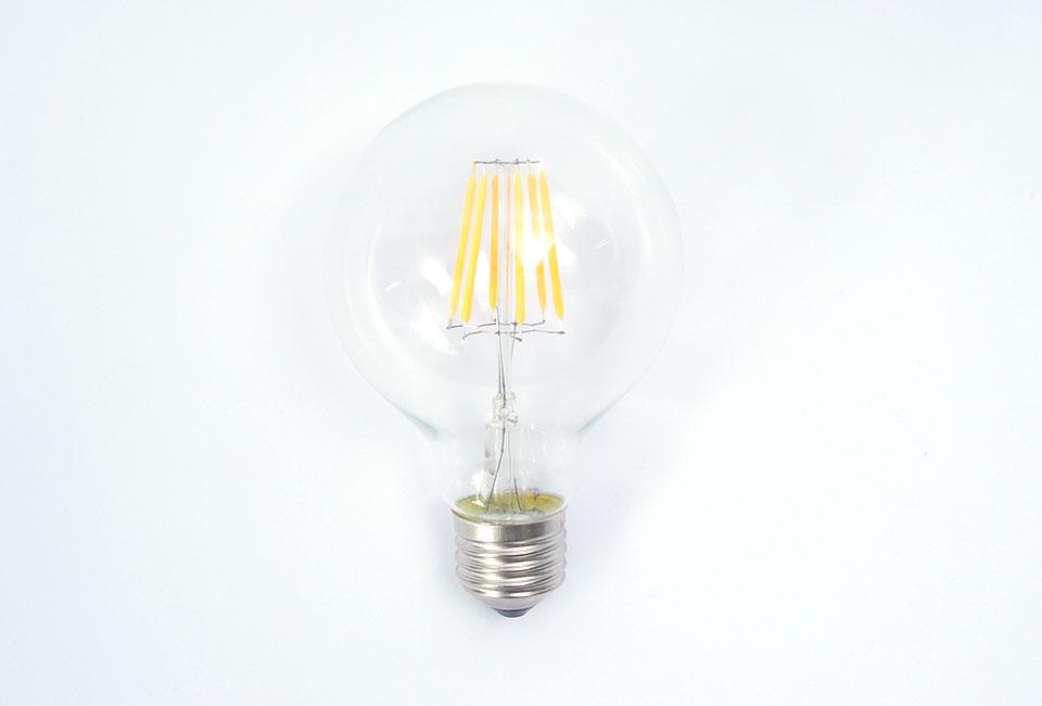 ampoule led vintage edison 6w blanc chaud g80 prix usine. Black Bedroom Furniture Sets. Home Design Ideas