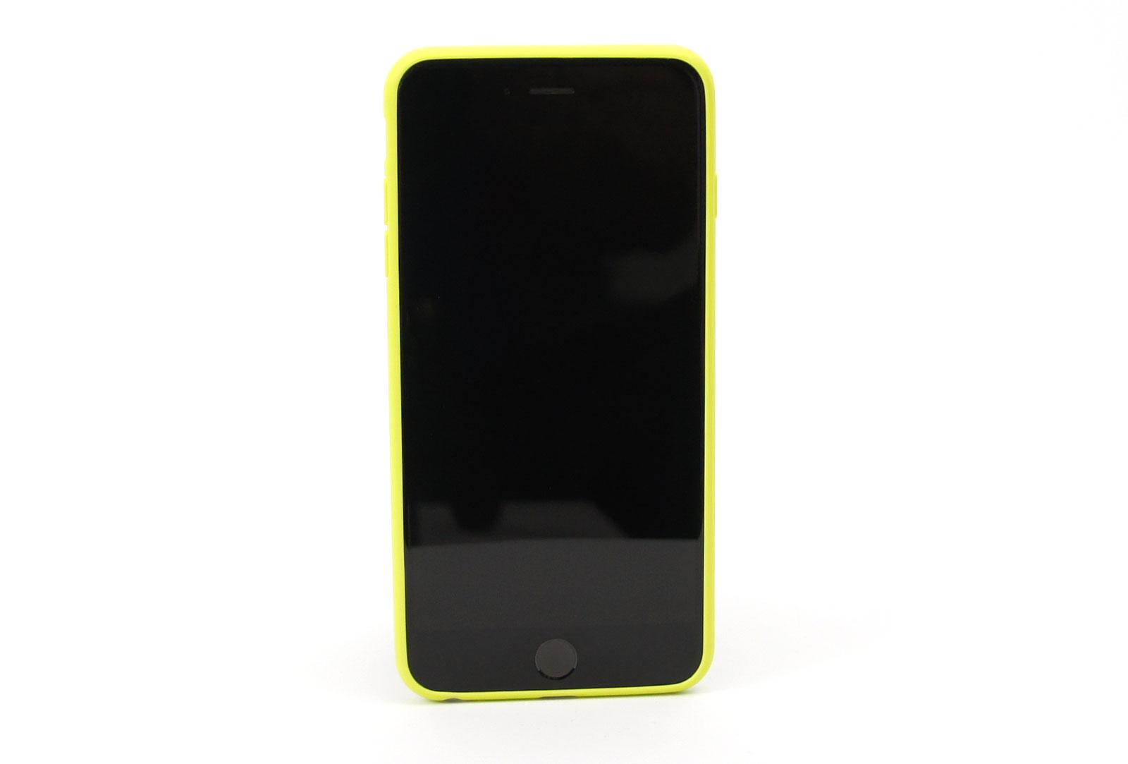 coque silicone souple jaune pour iphone 6 s plus et iphone 6 plus. Black Bedroom Furniture Sets. Home Design Ideas