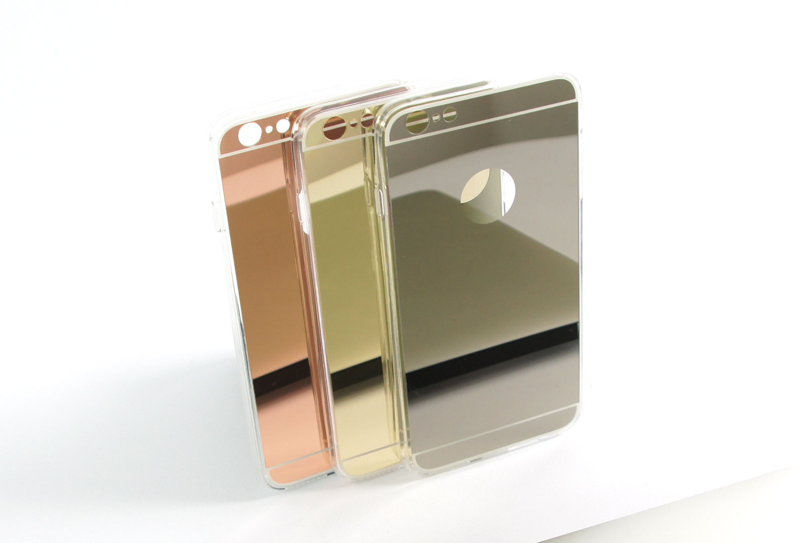 Coque slim miroir or pour iphone 6 s plus et iphone 6 plus for Coque iphone 6 miroir