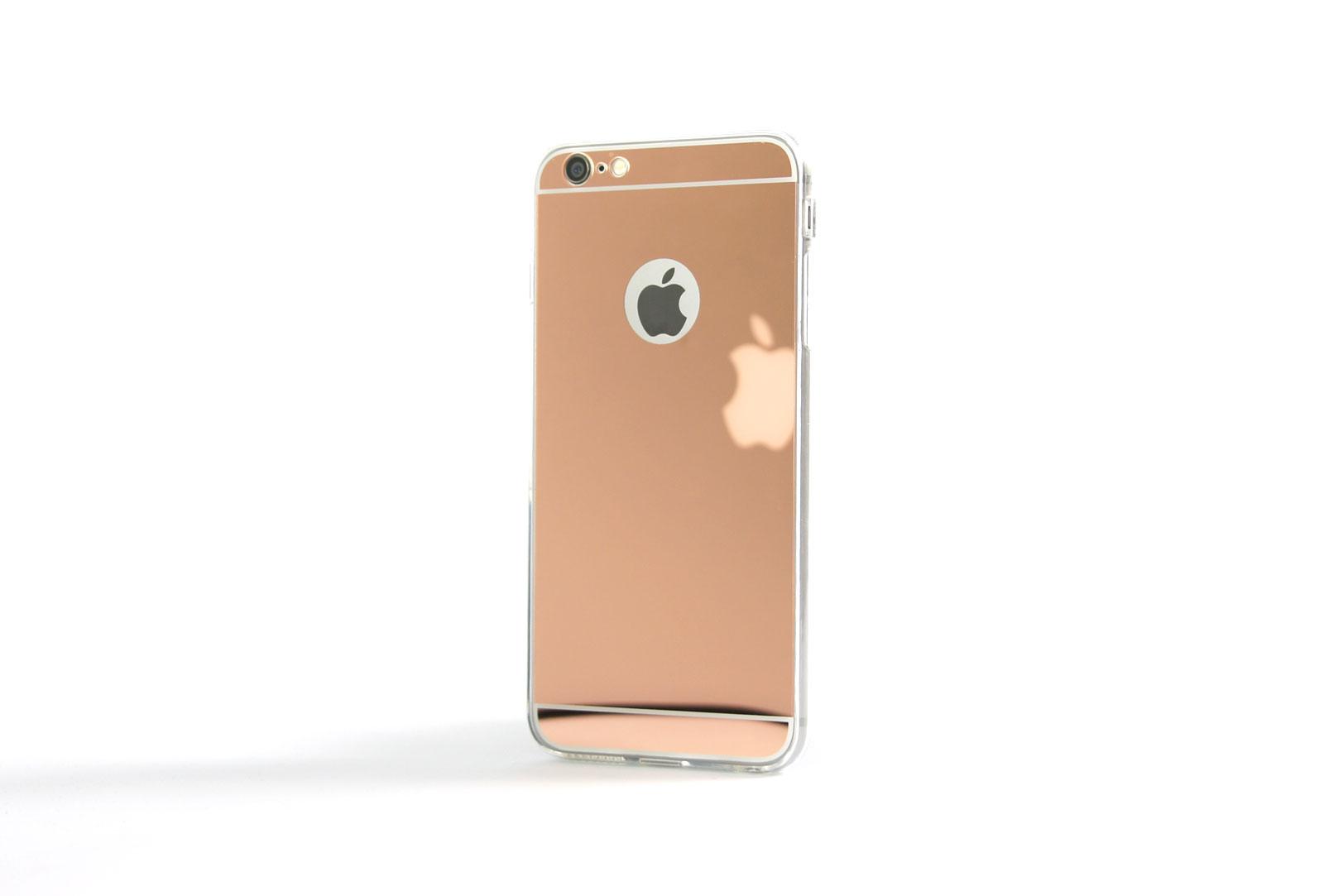 coque slim miroir rose pour iphone 6 s et iphone 6. Black Bedroom Furniture Sets. Home Design Ideas