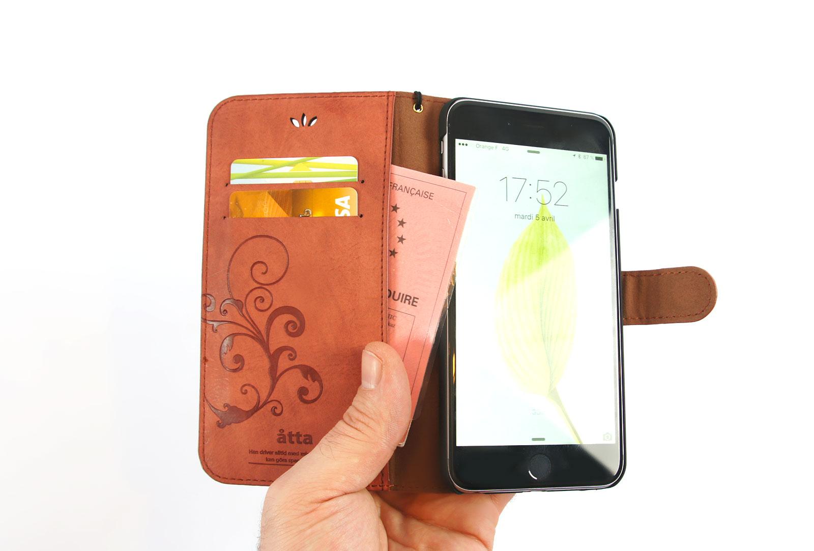 coque cuir rose iphone 6